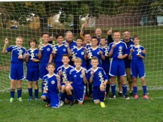 The North Salem U13 White Tigers won the team's second consecutive tournament over the Columbus Day weekend.