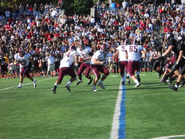 The annual Rye-Harrison football game, which draws more than 5,000 fans each year, has been moved to an earlier time this year -- 11 a.m. Sat. Oct. 19