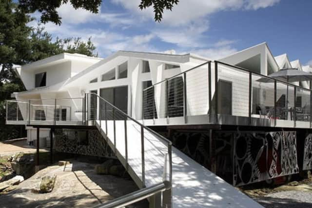 """Harrison's """"Fortress of Solitude"""" is up for sale, according to Curbed.com."""