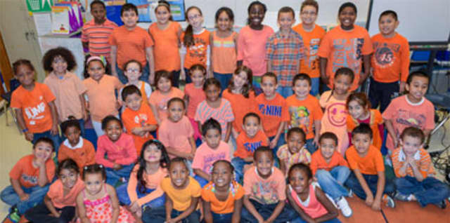 Students throughout the Yonkers School District are demonstrating their commitment to stop bullying.