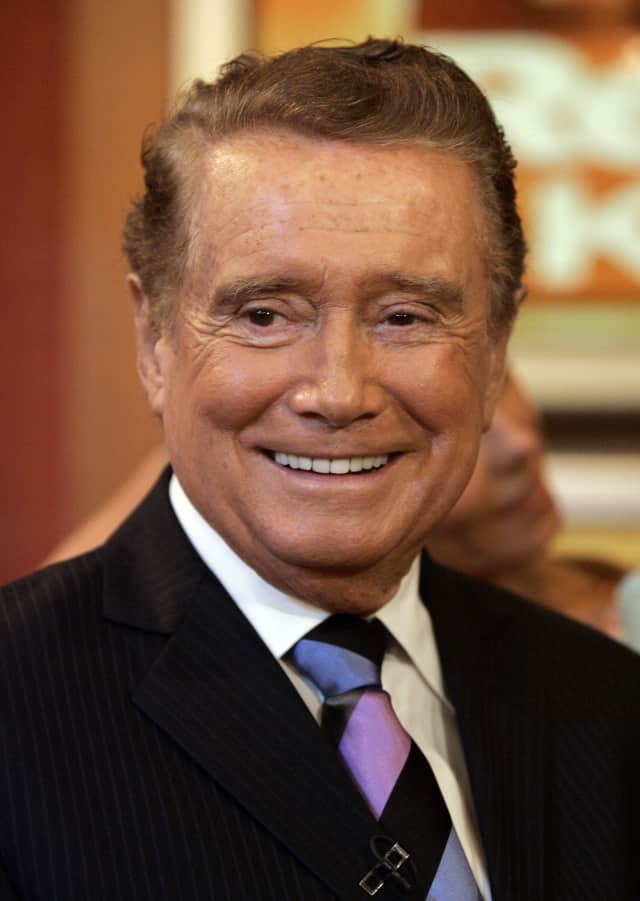 Regis Philbin will be visiting The Harvey School in November.