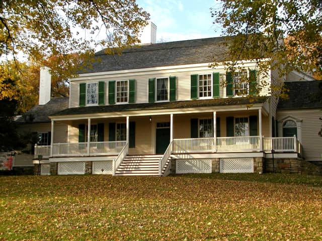 The John Jay Homestead in Katonah is the site of a farmers market open Saturdays though Oct. 29.