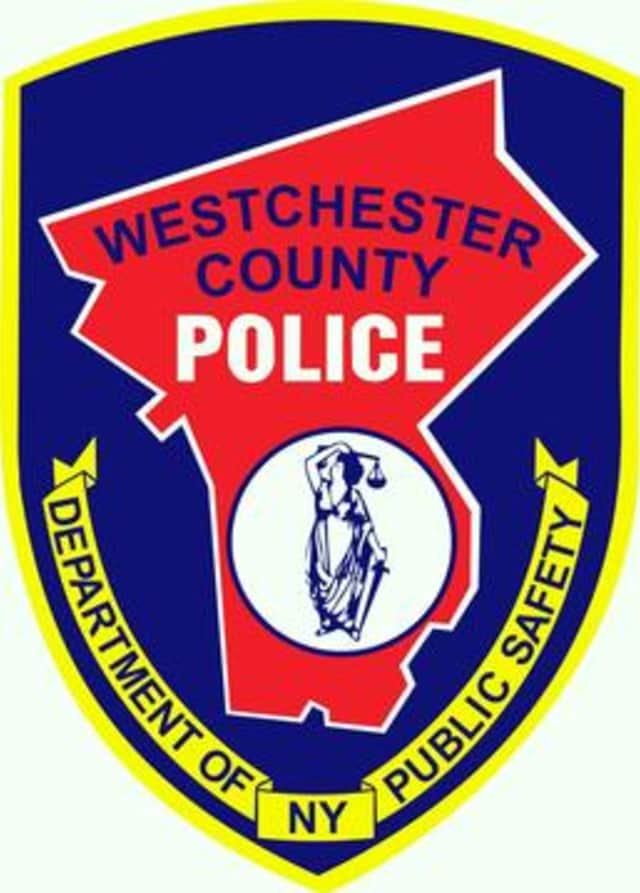 Westchester County Police are searching or a man who fled the scene of a chase and car crash Thursday.