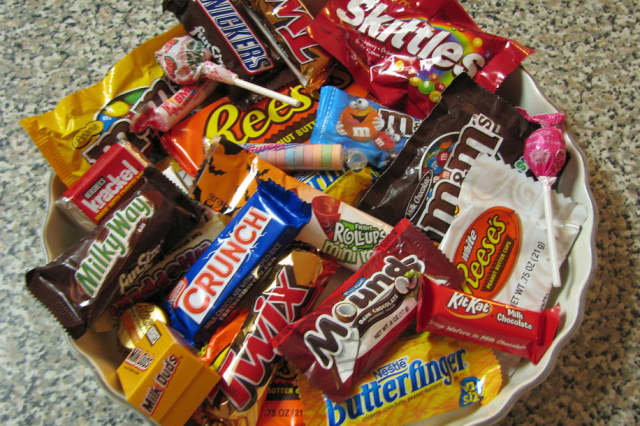 Bring your Halloween candy to East Madison Dental in Tenafly.