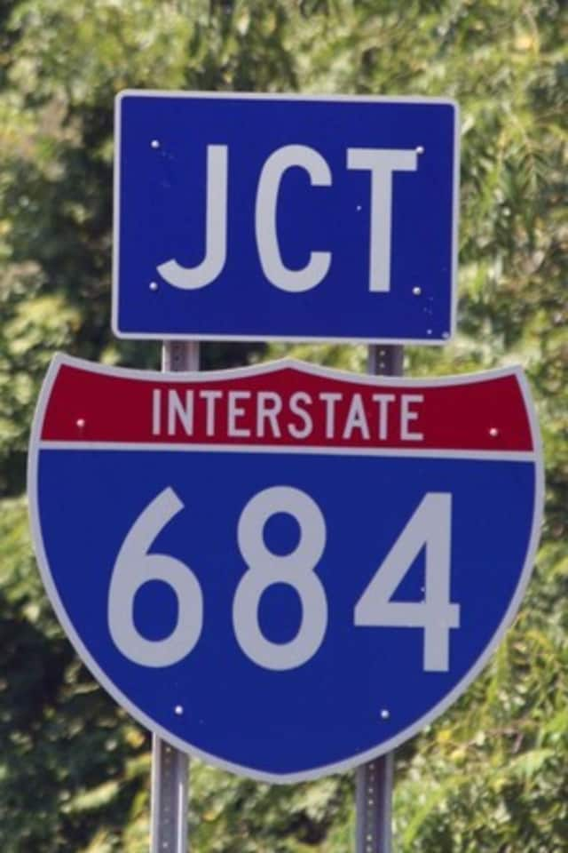 A Westchester man was killed in a single-vehicle crash on I-684.