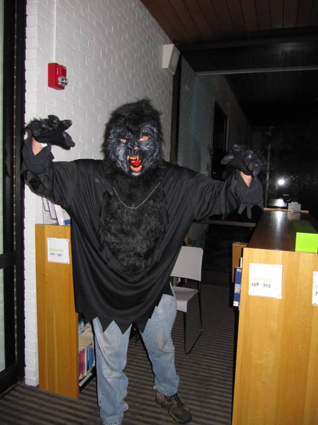 Come get scared Saturday at the haunted Wilton Library.
