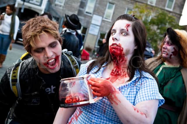 The Zombie 5K Run and Fun Walk takes off Sunday in Bergenfield.