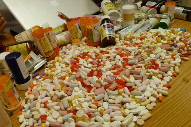 Bring your prescription drugs to a special take-back event.