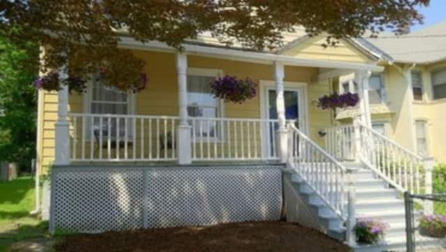 This house at 158 Depew St. in Peekskill is open for viewing this Sunday.