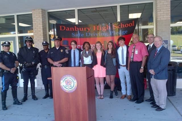 Danbury High School's Drive Safely Campaign Tops This Week