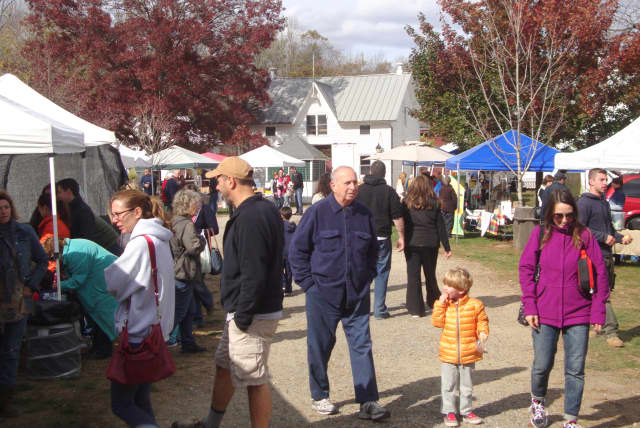 The Muscoot Farm farmers market is one of several activities offered in Westchester County over Labor Day weekend.