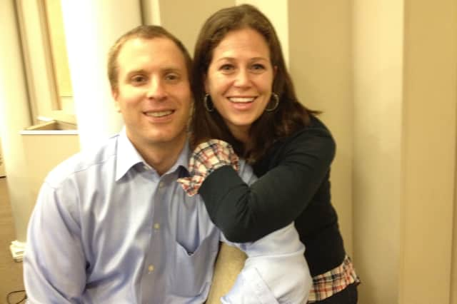 Daphne Viders, pictured with her husband, Zach, will be the co-chair for the Northern Westchester Hospital Gala.