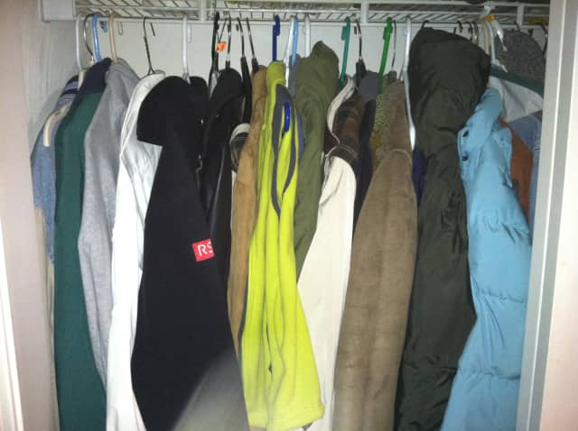 Port Chester Village Hall is the place to drop off coats.