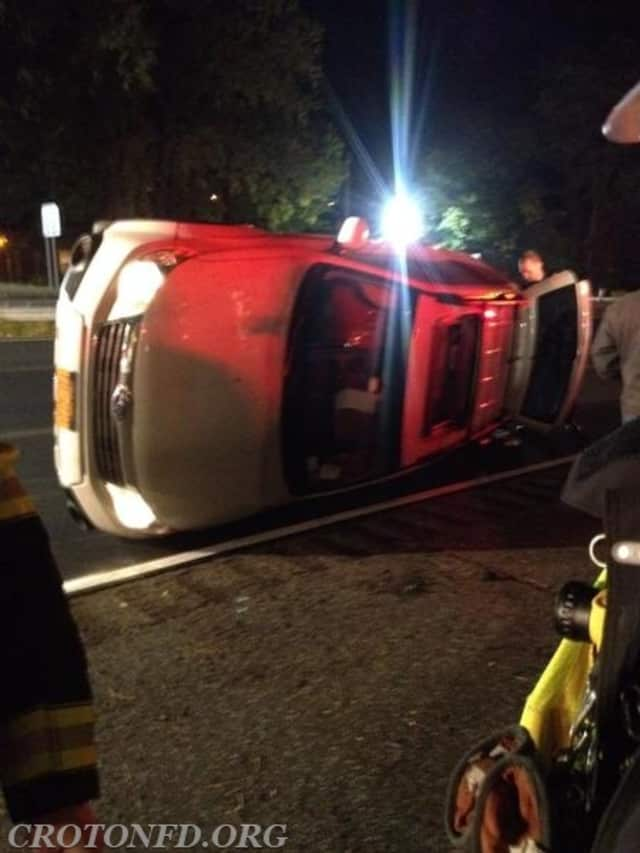 Croton Fire Department responded to a vehicle entrapment Sunday night.