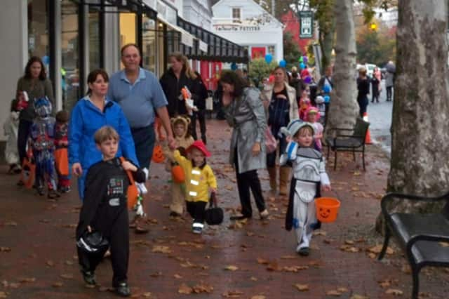 Downtown Dobbs Ferry will host trick-or-treaters on Oct. 31.