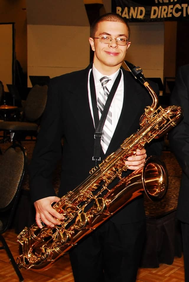 Port Chester High School senior Anthony Pellegrini has been chosen to play baritone saxophone as a member of the New York All-State Symphonic Band.