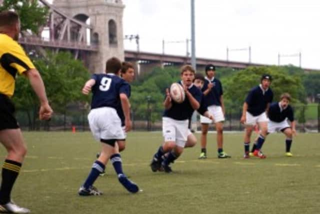 Three Pelham Youth Rugby teams headed to New Jersey Sunday to face off against East Coast youth Rugby team Morris.