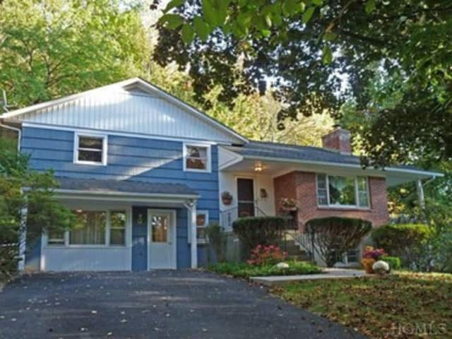 This house at 20 Riverview Road in Irvington is open for viewing this Sunday.