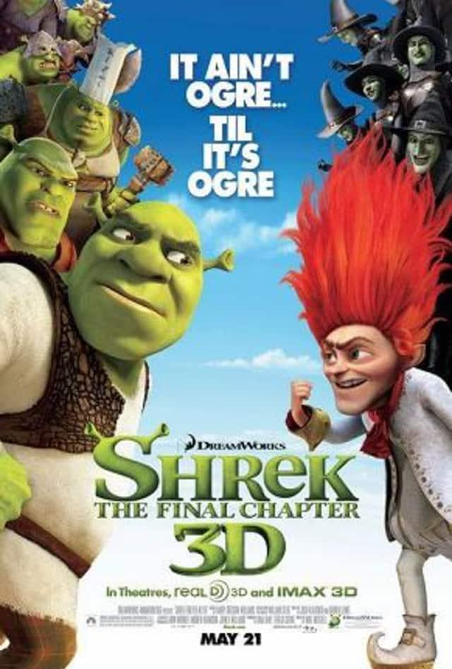 "The Pleasantville Recreation Center presents ""Shrek Forever After"" on Friday Nov. 8."