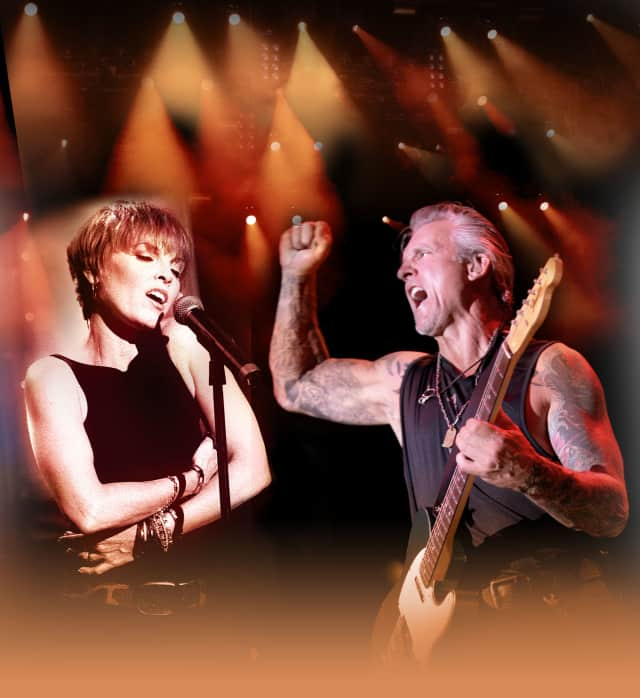 Pat Benatar and Neil Giraldo are set to play The Ridgefield Playhouse on Nov. 12.