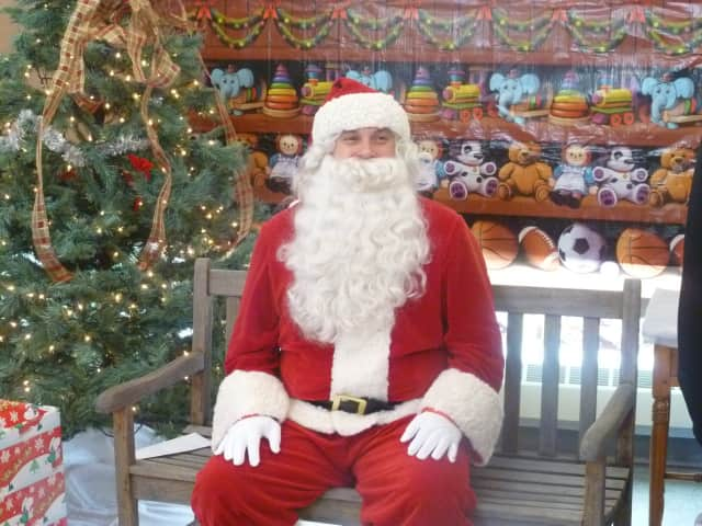 Santa is ready for visits Westfield Trumbull mall.