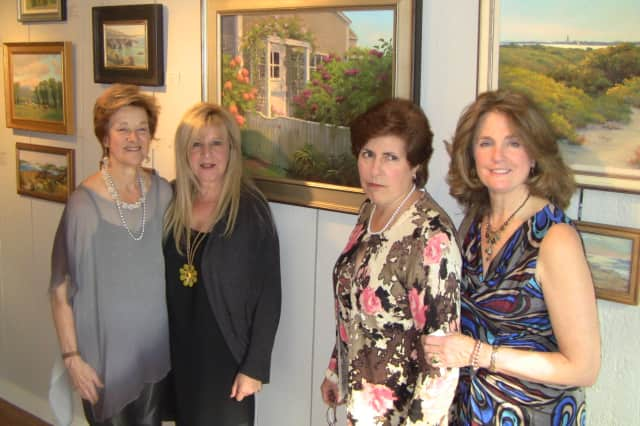 Artists exhibiting work at Kendall Studio Gallery include (left to right) Wendy Moore, Danielle Wexler, Marianne Kuhn and Kendall Klingbeil.