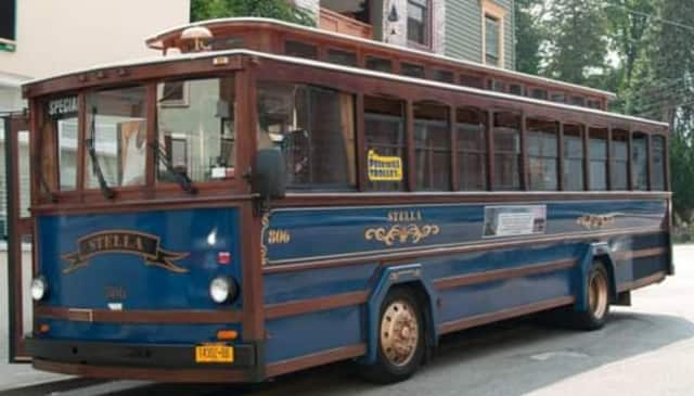 """Residents are invited to take a trolley ride Sunday during the """"George Washington Anniversary Trolley Tour"""" in Peekskill."""