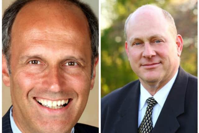 Left: David Gelfarb. Right: Mark Jaffe.