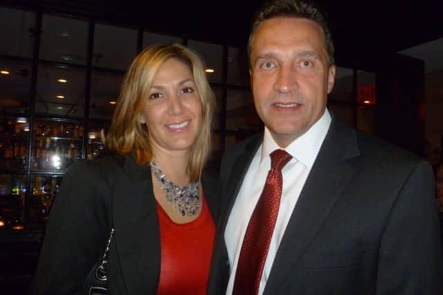Legislator Gordon Burrows and his wife, Chrissy.