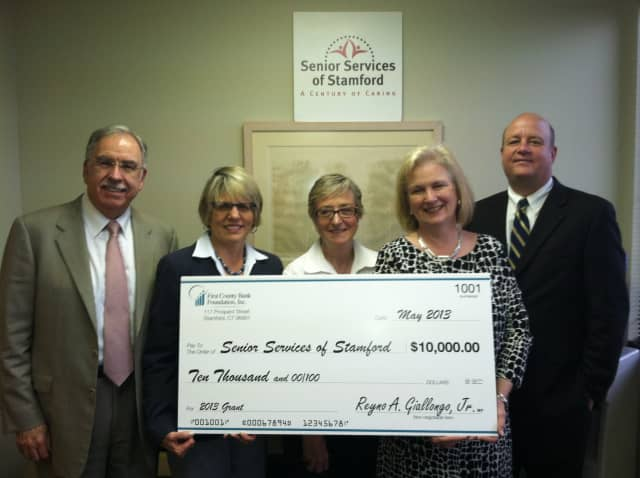 The Stamford-based First County Bank Foundation recently distributed $91,000 in grants to Norwalk-based nonprofits.