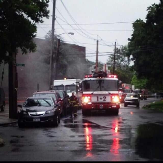 A fire destroyed a New Rochelle garbage truck early on Wednesday, Nov. 6.