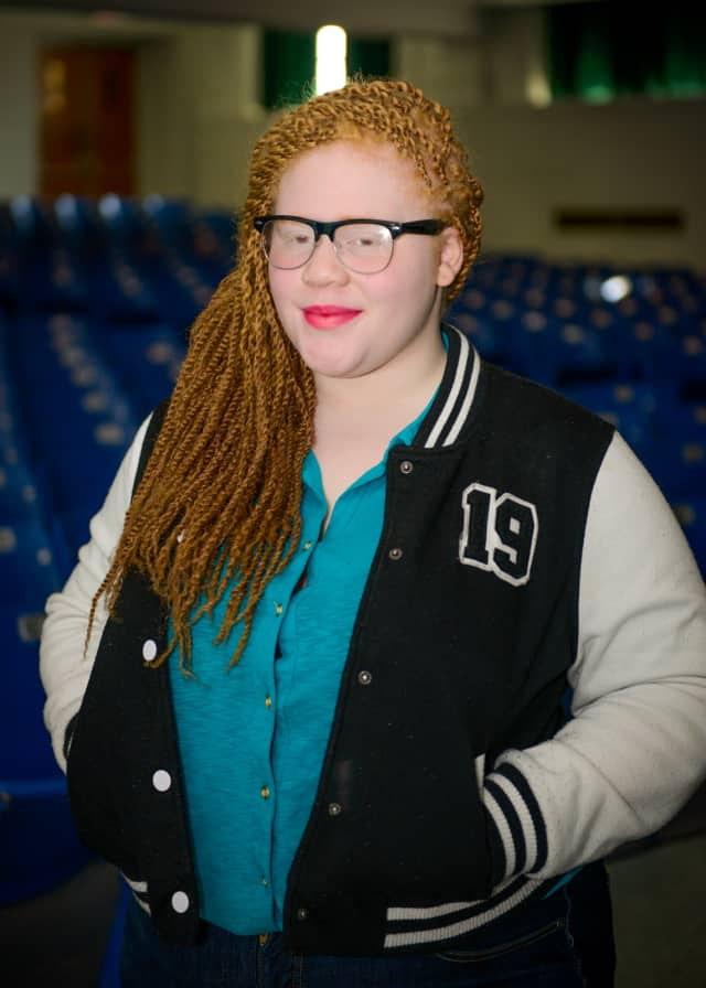 """Gorton High School junior Kiara Ray is set to perform in the Harlem production of """"We Are!"""" through Nov. 23."""