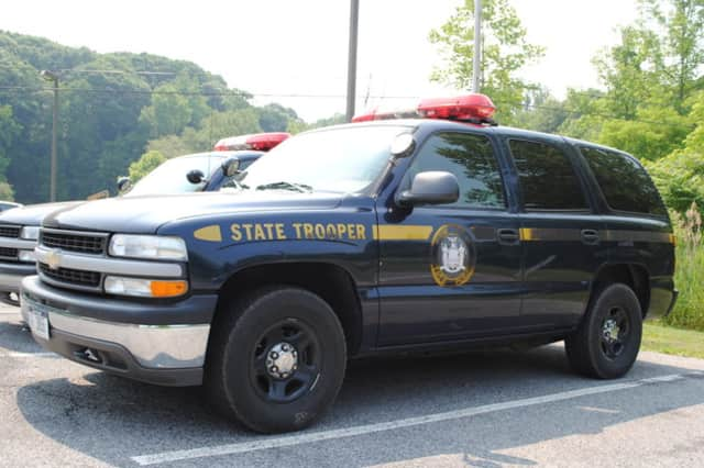 State Police arrested a Queens man on multiple charges after leaving the scene of an accident.
