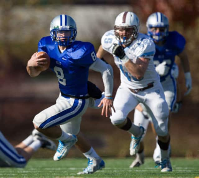Chappaqua's Justin Ciero was named player of the week for the New England Small College Athletic Conference on Sunday, Nov. 3.