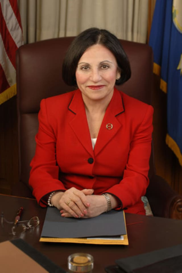 State Sen. Toni Boucher will join state Reps. Dan Carter and Stephen Harding for a public legislative update meeting on Thursday in Bethel.