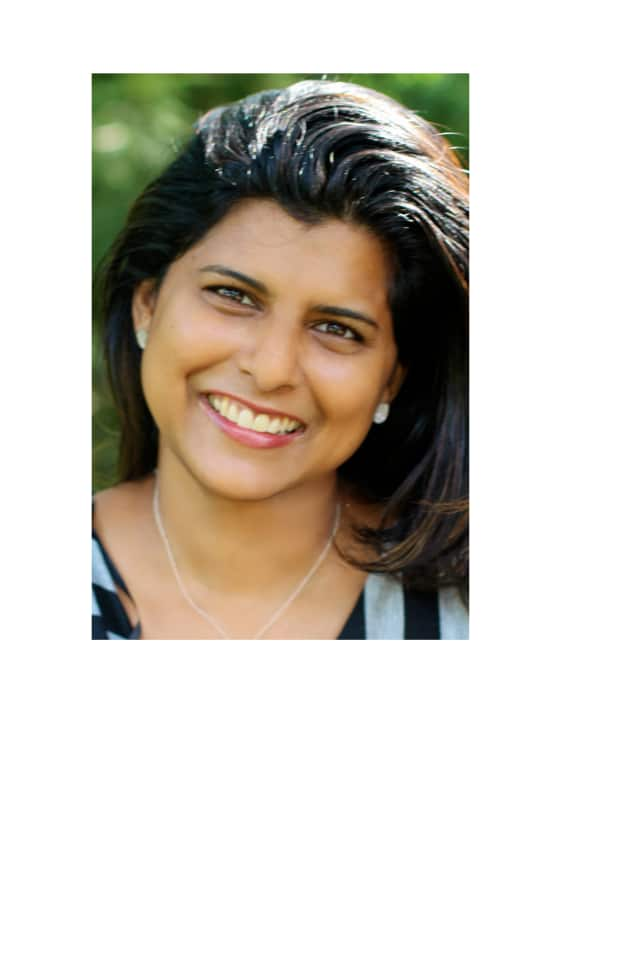 """Medha Thomas of Westport is the creator a """"Mom E-Fair,"""" scheduled for Sunday at the Knights of Columbus in Stamford."""