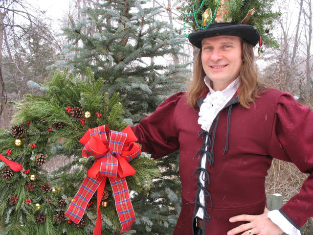 "Master storyteller Jonathan Kruk will re-tell Charles Dickins' ""'A Christmas Carol""' in the historic Christ Episcopal Church in Tarrytown on weekends in December."