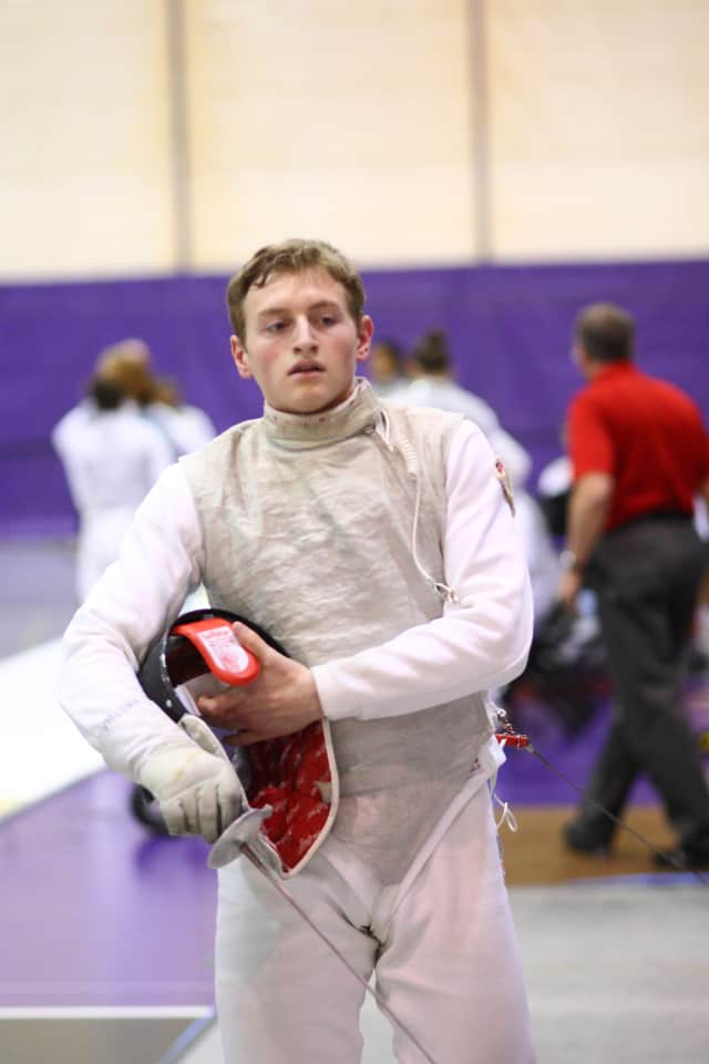 Briarcliff Manor's Christian Vastola has started off the 2013 fencing season at NYU undefeated.