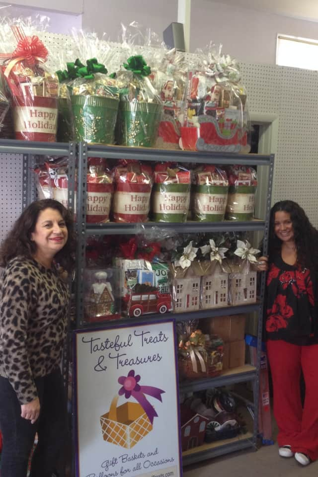 Rose Colonna, left, and her daughter, Jennifer, run Tasteful Treats & Treasures in Bedford.
