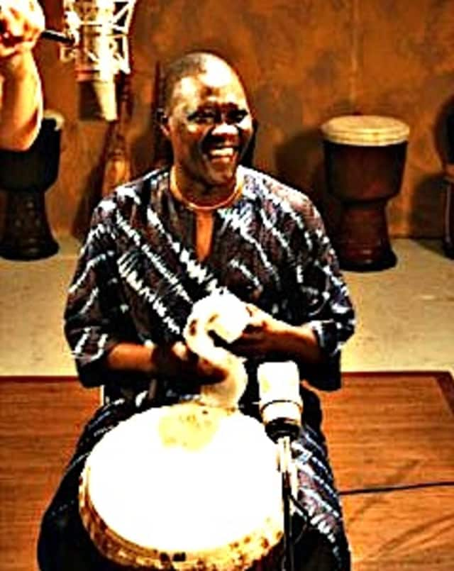 M'Bemba Bangoura will teach teens how to play the Djembe on Saturday, Nov. 16 at Curious-on-Hudson.