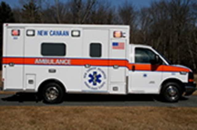A Danbury man is seriously hurt after falling two stories at a construction site.