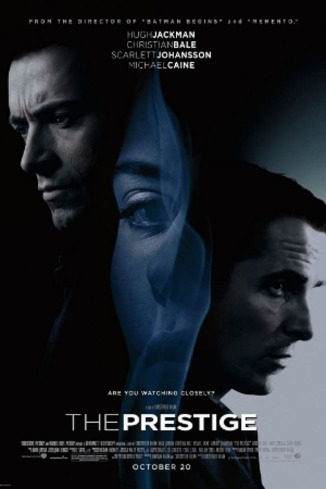 "The Darien Library is screening ""The Prestige"" as part of its Wednesday Matinee series."