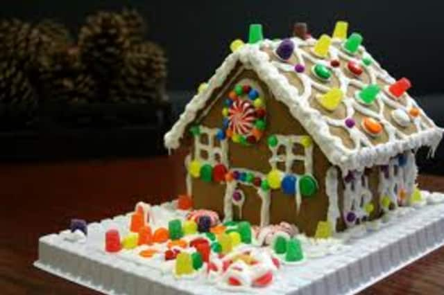 Children can decorate their own gingerbread house at the Pleasantville Rec Center.