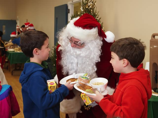 The Hartsdale Rotary Club is sponsoring a Breakfast with Santa program in Greenburgh on Dec. 7.
