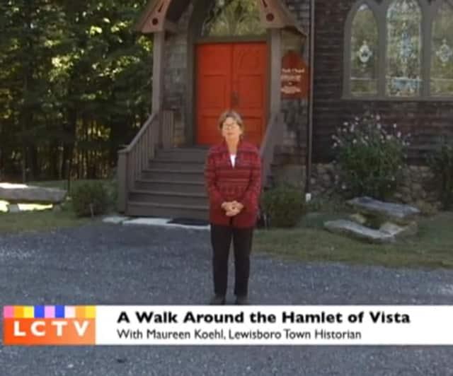 Lewisboro town historian Maureen Koehl.
