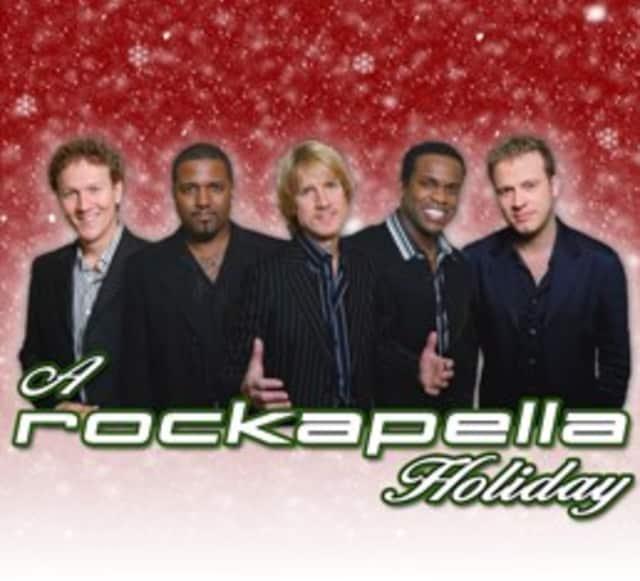 "The Ridgefield Playhouse presents ""A Rockapella Holiday"" on Dec. 12 at 8 p.m."