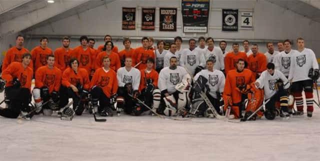 The Ridgefield High School hockey annual Thanksgiving Alumni game will be held on Friday, Nov. 29.