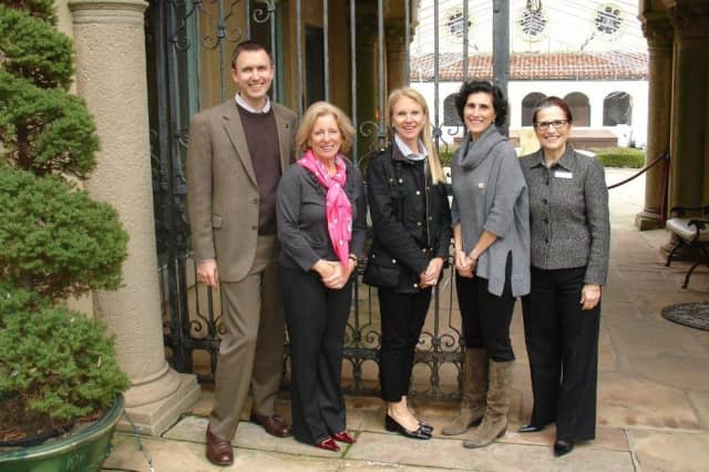 """Jeffrey P. Haydon, Wendy Ross, Heather G. Langham, Belinda Roth, and Mercedes Santos-Miller collaborated on creating the """"Museum Mile."""""""