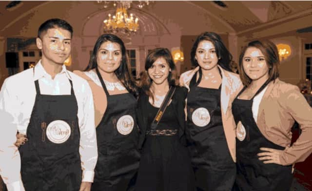 Café Alma Class of 2014 – Students of new culinary program at Don Bosco Community Center demonstrated their skills at 3rd Annual Fusion of Flavors.
