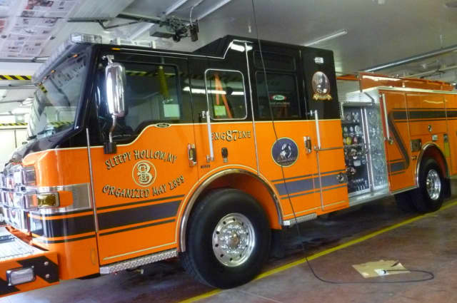 Approximately 40 firefighters worked to extinguish a blaze in Sleepy Hollow on Wednesday, Nov. 20.